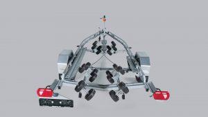 RESPO 1350 V651 Multiroller valtinė priekaba laivams iki 6,1m.